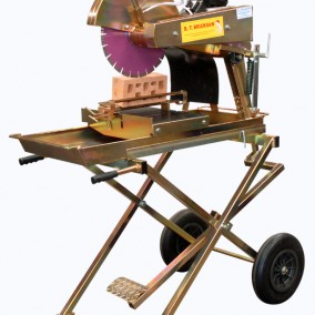 "BT Engineering 14"" Bricksaw, Bric-crete Pakenham, diamond blades , cutting and abrasive"