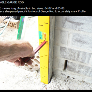bric-crete Pakenham , gauge rod , bricklaying